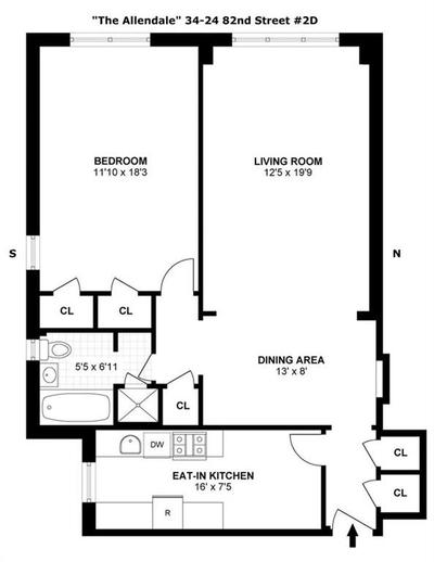 3424 82nd St #2D Image 2 of 10
