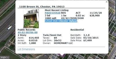 1108 Brown St, Chester, PA 19013